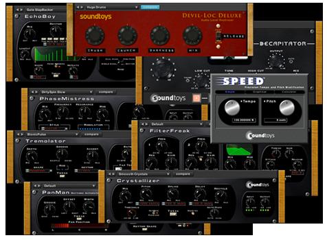 Soundtoys plugin bundle