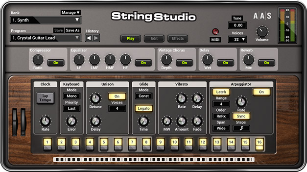 String Studio VS-2 by AAS