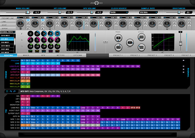 The powerful routing and effects software for the Zen Studio by Antelope Audio.