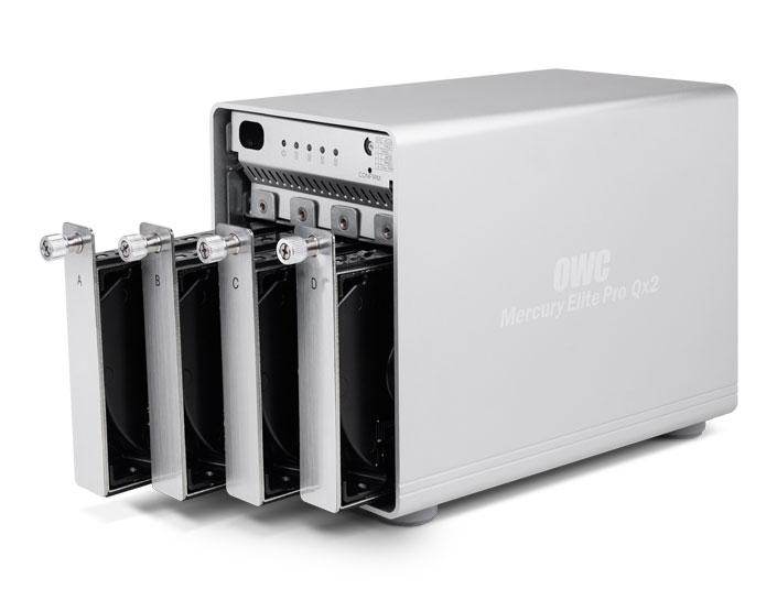Mercury Elite Pro Qx2 drive bays