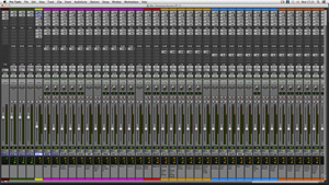 Stress Test Session in Pro Tools