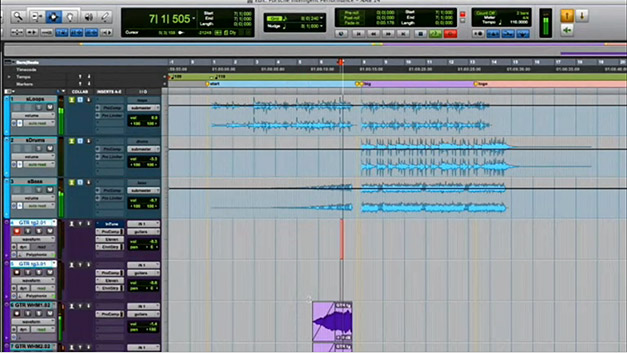 Freeze Track in Pro Tools