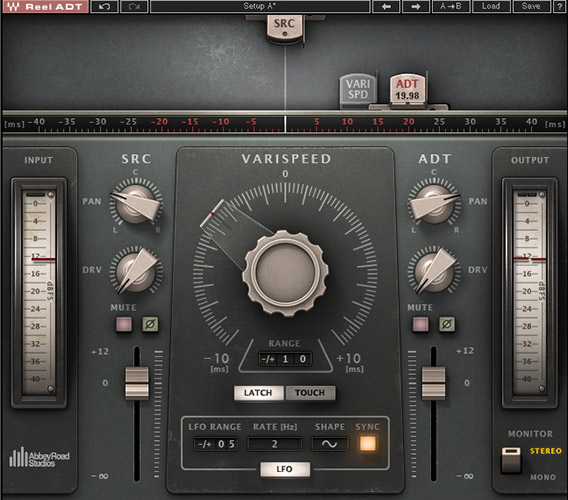 Reel ADT plug-in by Waves and Abbey Road Studios