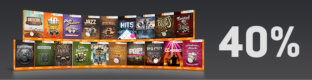 EZdrummer Expansions sale by Toontrack