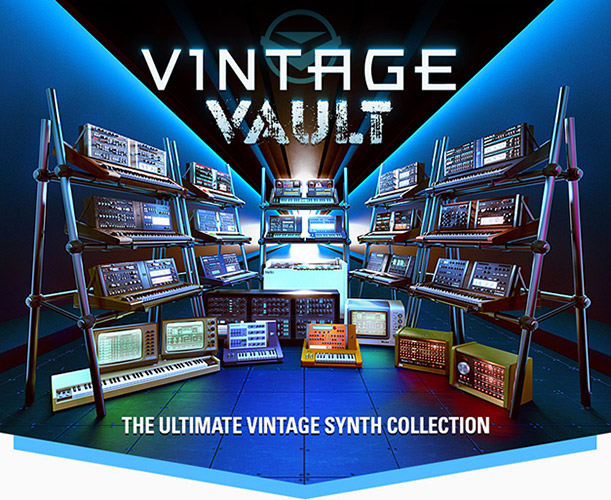 Vintage Vault Ultimate Synth Collection by UVI