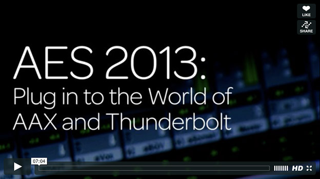 Avid AAX plugin developers video AES 2013