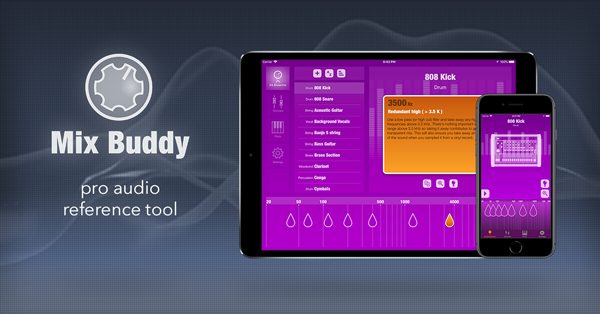 Mix Buddy 2 | Pro audio reference tool for mixing