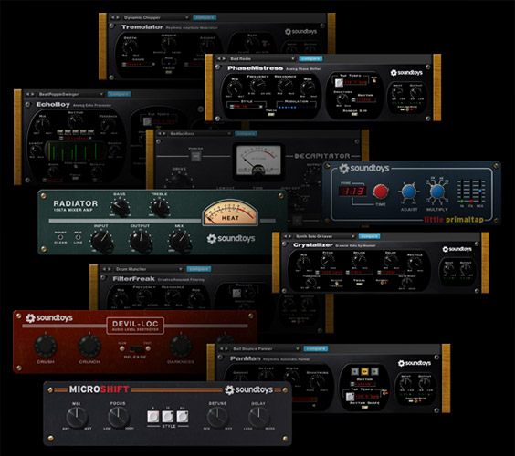 Soundtoys plug-in overview 64-bit